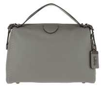 Tote Glovetan Leather Laural Frame Bag Heather Grey grau