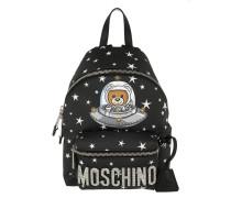 Astronaut Bear Backpack Small Black Rucksack