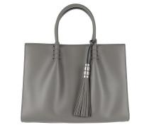 Mini Double T-Bag Grey Tote