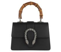 Satchel Bag Dionysus Mini Top Handle Bag Leather Black schwarz