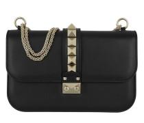 Rockstud Medium Shoulder Bag Black Tasche