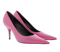 Knife Pumps Leather Rosa Bon Bon Pumps