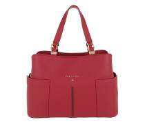 Carry All Handle Bag Ruby Tote
