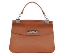 Satchel Bag Madeleine Messenger Bag Leather Caramel cognac