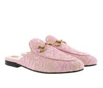 Princetown Lace Slipper Light Pink Schuhe