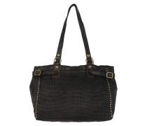 Braided Shopping Bag Small Grigio Tote