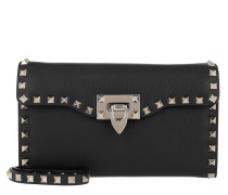 Rockstud Shoulder Bag Nero1 Tasche