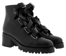 Combat Boots Black Schuhe