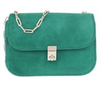 Chain Link Shoulder Bag Smeraldo