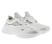 Sneakers Skyline Delta Lace Mix White Silver