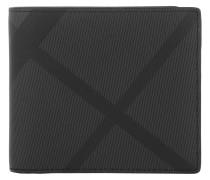 London Bi-fold Wallet Charcoal/Black