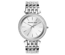Darci Silver-Tone Watch Armbanduhr