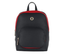 TH Core Backpack Tommy Navy/Tommy Red Rucksack