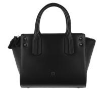 Valeria Handle Bag Small Black Tote