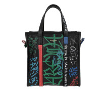 Bazar Shopper S Black/Green/Red Tote