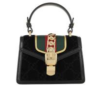 Umhängetasche Sylvie GG Mini Bag Velvet Black bunt