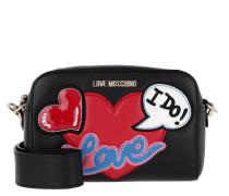 Logo Love Crossbody Bag Nero Tasche