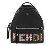 Mini Backpack Studded Black Rucksack