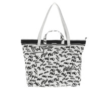 Shopping Bag Print Canvas White Shopper
