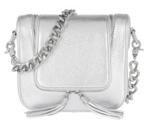 Essex Street Two Crossbody Bag Silver Tasche