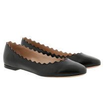 Ballerinas Lauren Ballerinas Leather Black schwarz