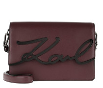 K/Signature Shoulderbag Wine Tasche