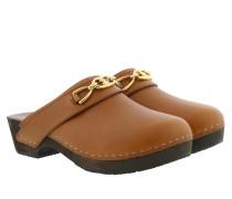 Schuhe Les Bois Clogs Leather Tan