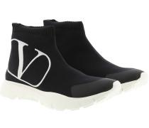 Sneakers High Top Black