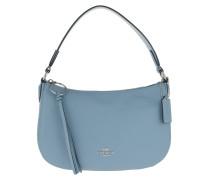 Umhängetasche Polished Pebble Leather Sutton Crossbody Bag Slate blau