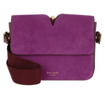 Umhängetasche Mystery Suede Small Shoulder Bag Berry Blitz Multi