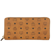 Portemonnaie Visetos Original Zipped Wallet Large Cognac cognac