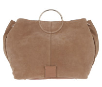 Genova Amalfi Flap Over Bag Toffee Tote