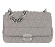 Sloan LG Chain Shoulder Bag Pearl Grey Tasche