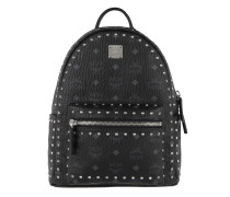 Stark Outline Studs Backpack Small Black Rucksack