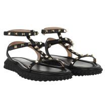 Free Rockstud Sandals Black Sandalen