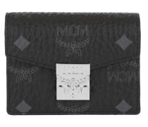 Portemonnaie Patricia Visetos Acordian Card Wallet Mini Black schwarz