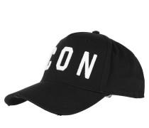 Caps Icon Baseball Cap Black/White