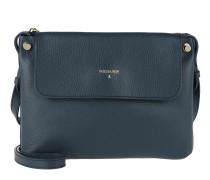 Movable Strap Crossbody Bag Steel Azure/Nero Tasche