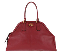 ReBelle Large Top Handle Bag Leather Red Tote