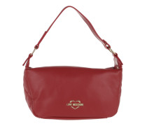 Borsa Quilted Nappa Shoulder Bag Rosso Tasche