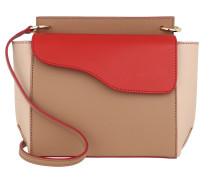 Umhängetasche Aulla Shoulder Bag Almond/Tomato Red/Dusty Pink