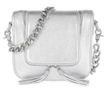 Essex Street Two Crossbody Bag Silver Tasche