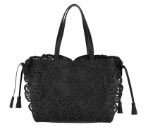 Laser Tote 3D Butterfly Black