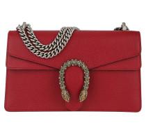 Dionysus Shoulder Bag Leather Hibiscus Red Tasche