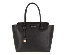 Mercer LG Satchel Leather Black Satchel Bag