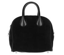 Tote Mary Jane Small Bag Velour Black/Black schwarz