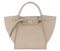 Small Big Bag Grained Calfskin Light Taupe Tote