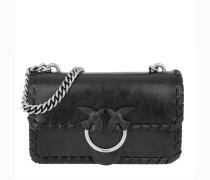 Umhängetasche Mini Love Twist Crossbody Bag Nero Limousine schwarz