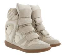 Bekett Sneakers Suede Ecru Sneakers