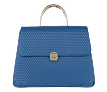 Genoveva M Handbag True Blue Satchel Bag